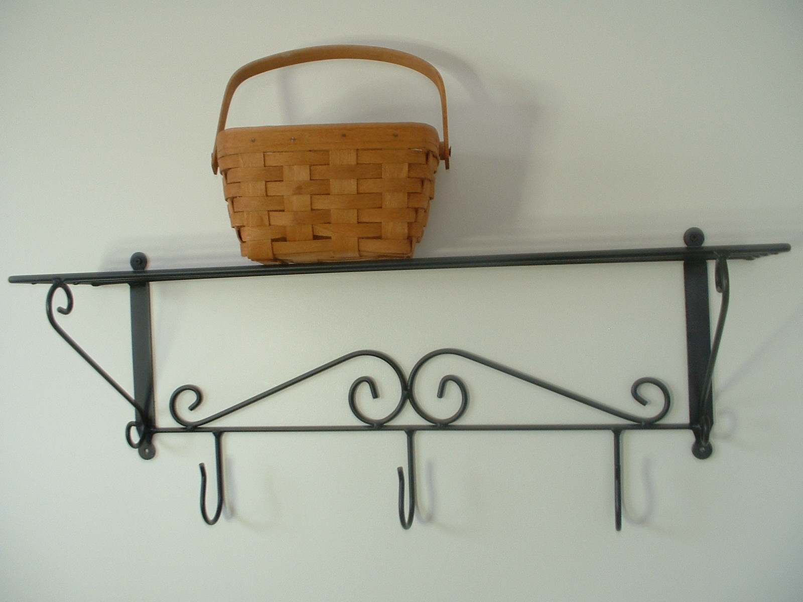 Wrought Iron Basket Display Items, Shelves, More!