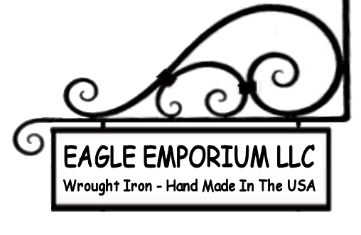 Hand Crafted And American Made Wrought Iron by Eagle Emporium
