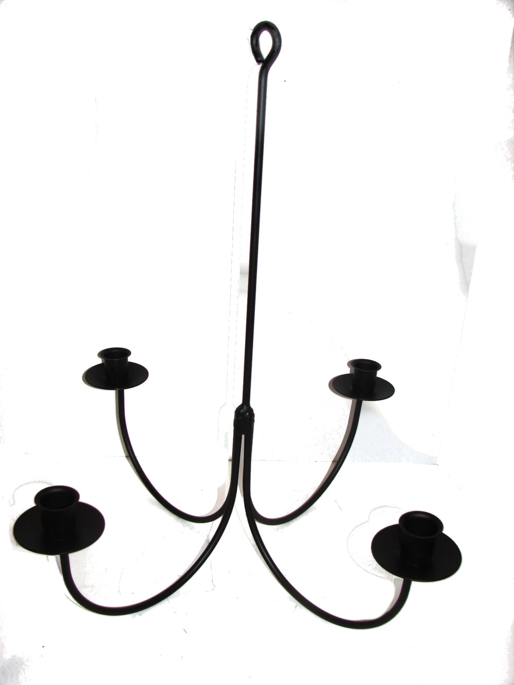 Wrought Iron Chandeliers and Hanging Candle Holders Candoliers – Wrought Iron Candle Chandelier