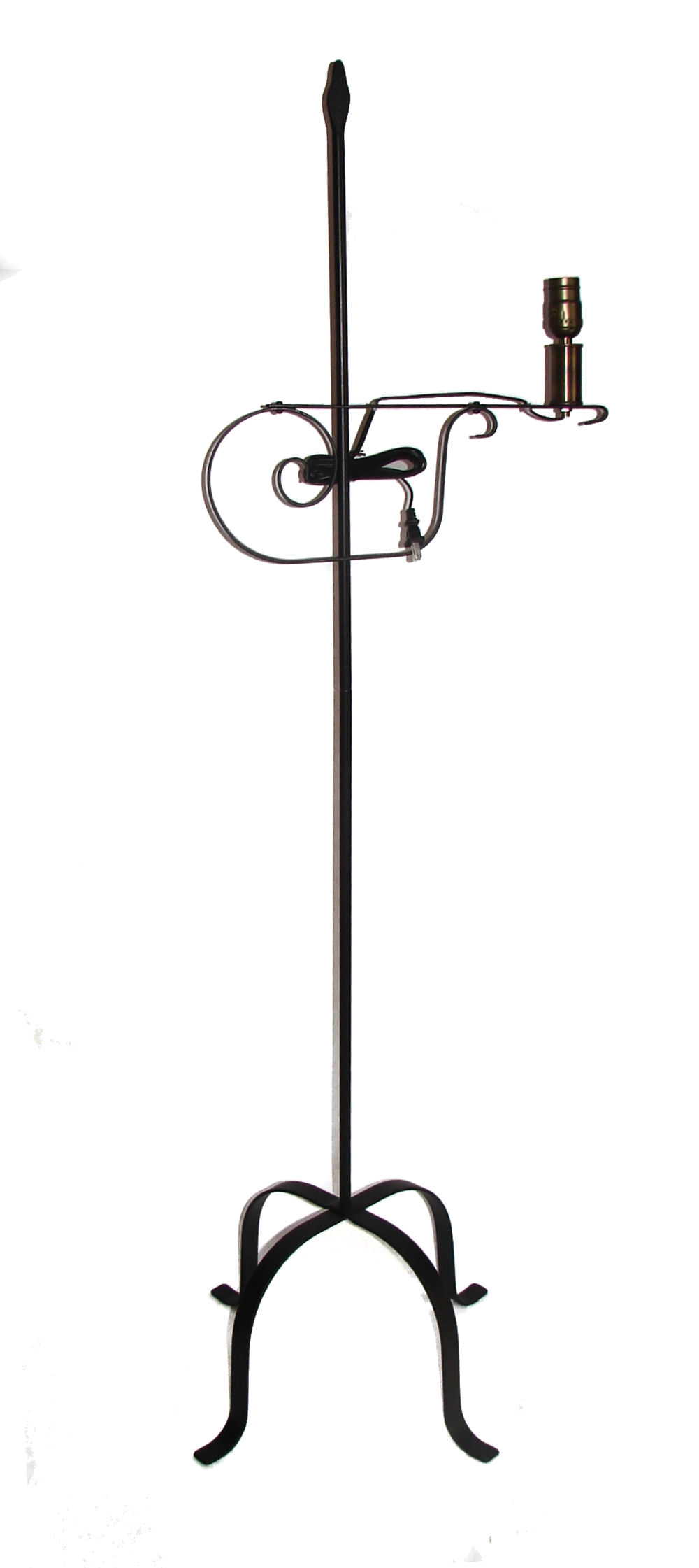 lamp light products iron shades floor twig bronze of