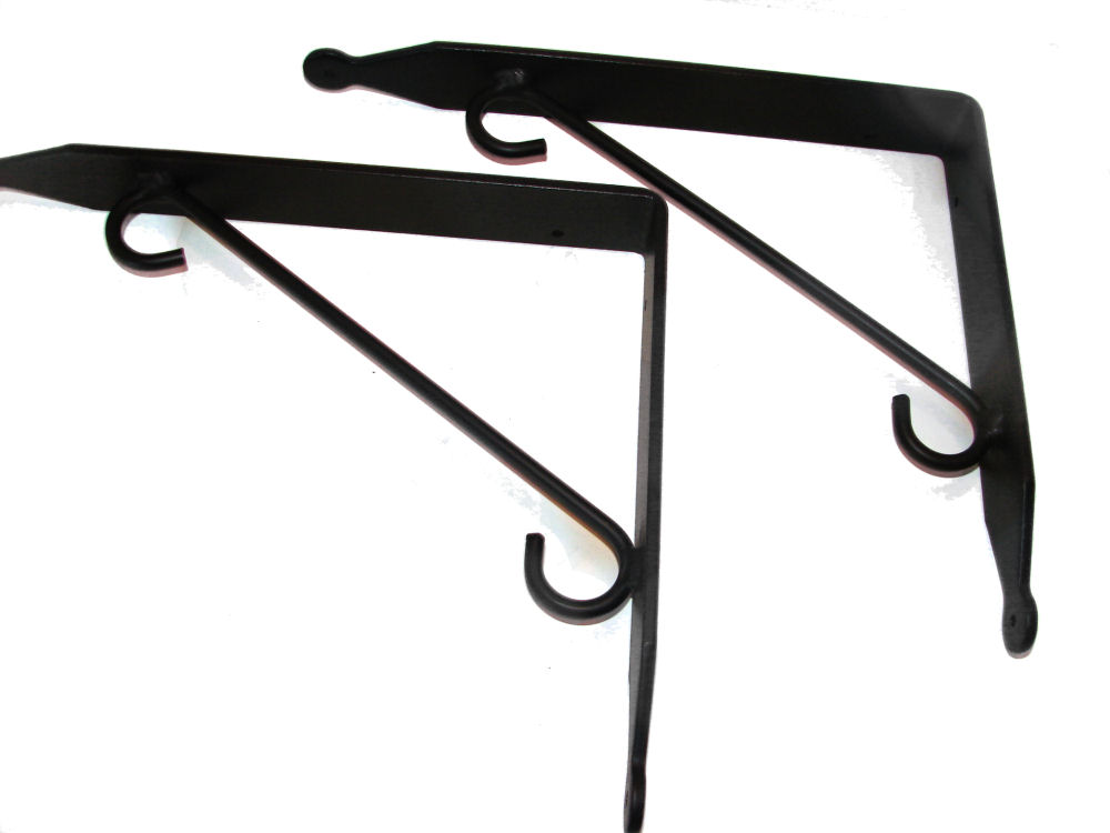 wrought iron shelf brackets wrought iron shelves shelving. Black Bedroom Furniture Sets. Home Design Ideas